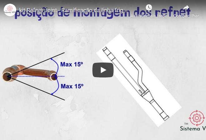kit Refnet Joint – Ramificação da linha frigorífica